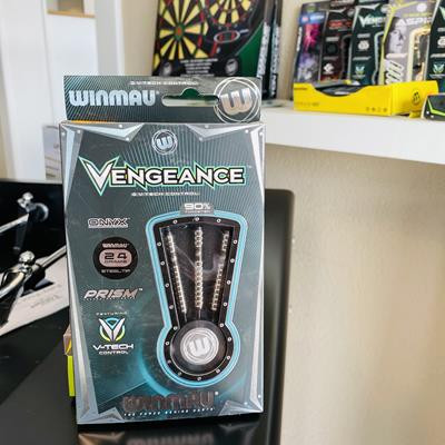 Fléchettes Winmau Vengeance 24gr  - Photo 1